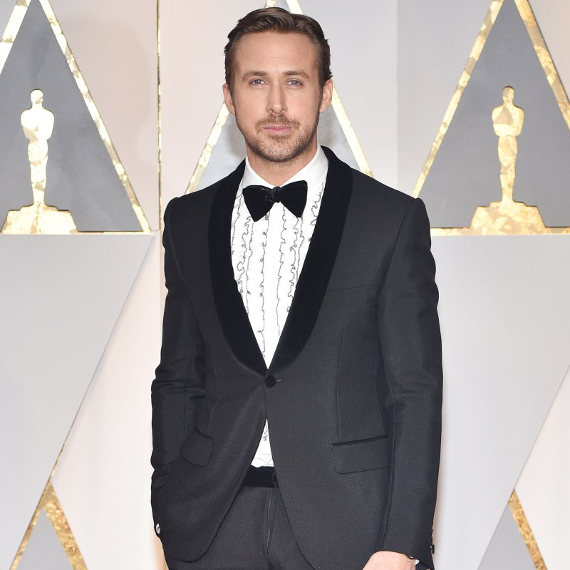 Ryan Gosling One Button Suit