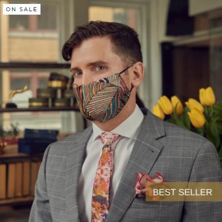 Nathan Kong Silk Masks