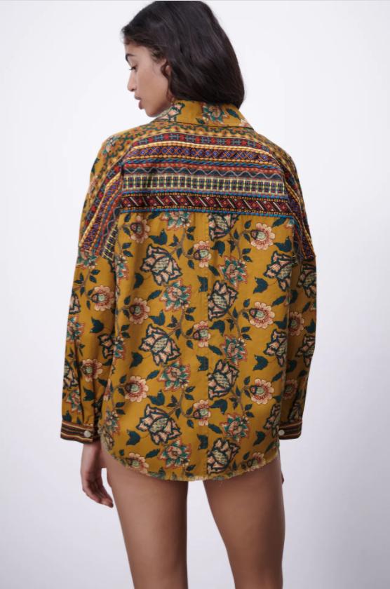 Zara Printed Overshirt