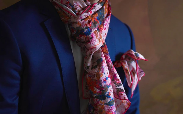 How To Wear A Silk Scarf With Your Outfits