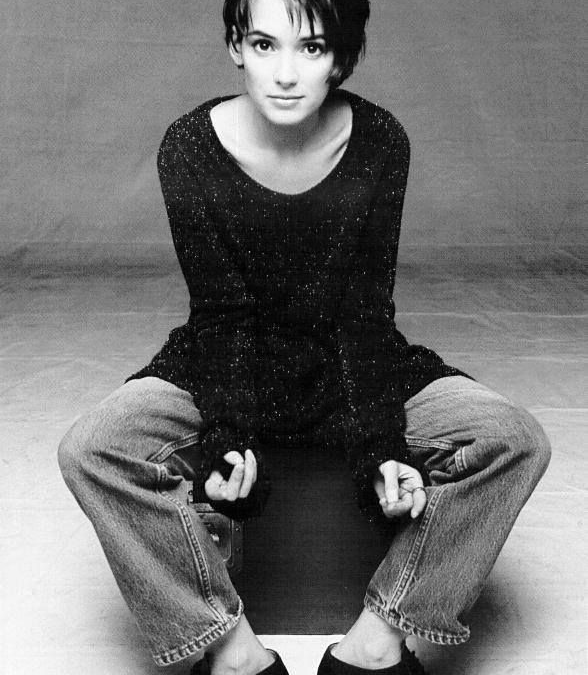 Winona Ryder's 90's aesthetic is super attainable and everything we love
